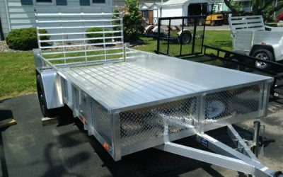 SPORTS HAVEN ALUMINUM UTILITY TRUCK