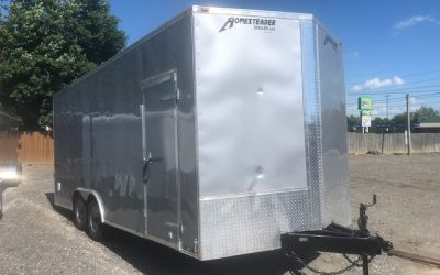 2019 8.5×20 HOMESTEADER INTREPID 9950 GVWR *AVAILABLE NOW*