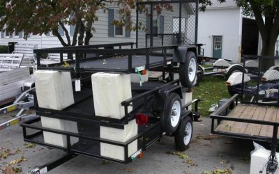 CARRY-ON SINGLE AXLE UTILITY TRAILERS